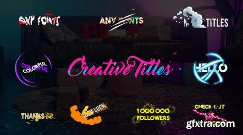 Creative Titles 965406