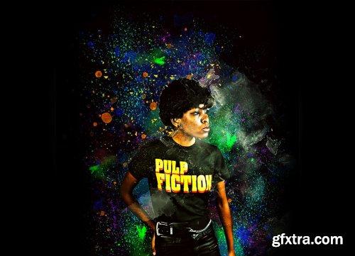 CreativeMarket - Colorful Art Photoshop Action 6185427