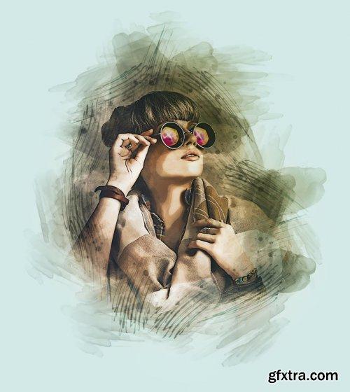 CreativeMarket - Pro Watercolor Paint 6190657