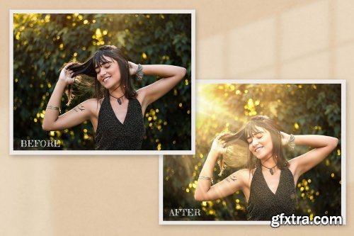 CreativeMarket - 50 Realistic Sunlight Photo Overlay 6316789
