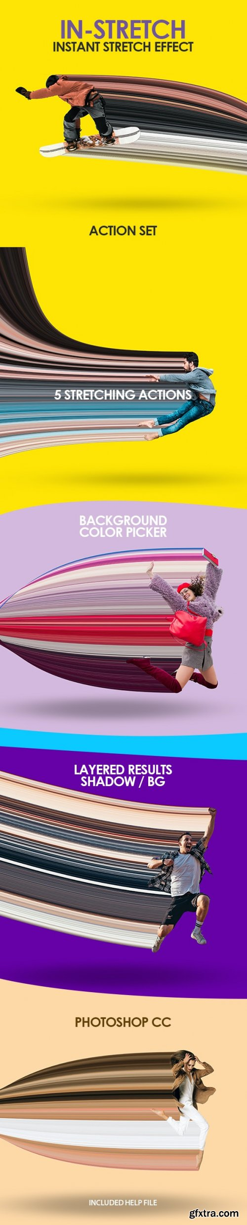 GraphicRiver - InStretch Photo Stretching Action Set 32945747