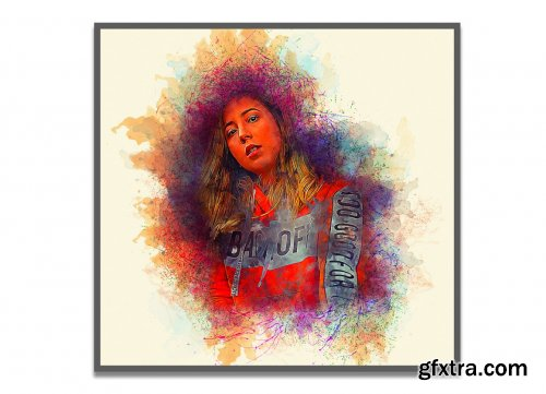 CreativeMarket - Soft Watercolor Photoshop Action 5404488