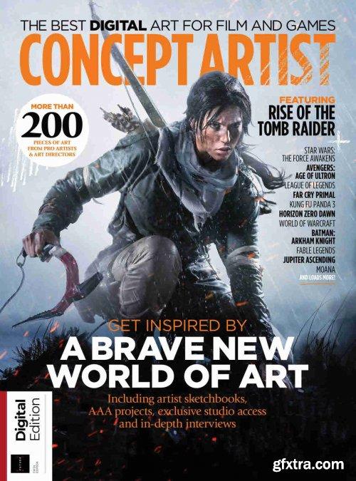 Concept Artist - 5th Edition, 2021