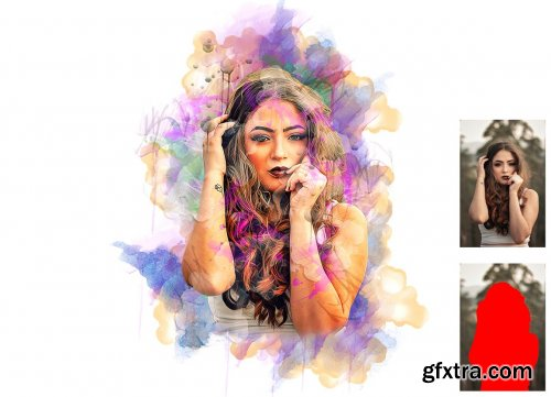 CreativeMarket - Painting Photoshop Action 6272899