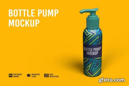 Bottle Pump Mockup
