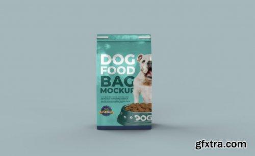 Pet Food Bag Mockup