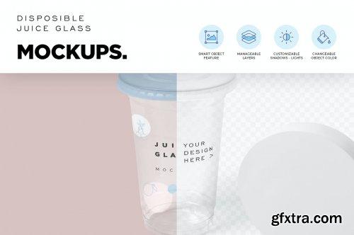 Disposable Glass Mockups