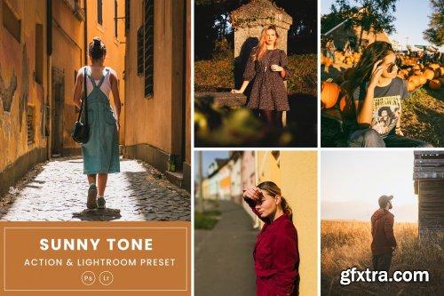 Sunny Tone Action & Lightrom Presets