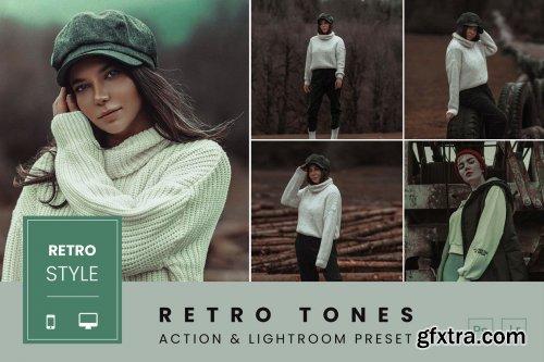 Retro Tones Action & Lightroom Preset