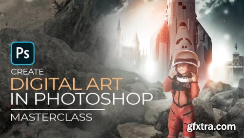 Compositing Digital Artwork in Photoshop