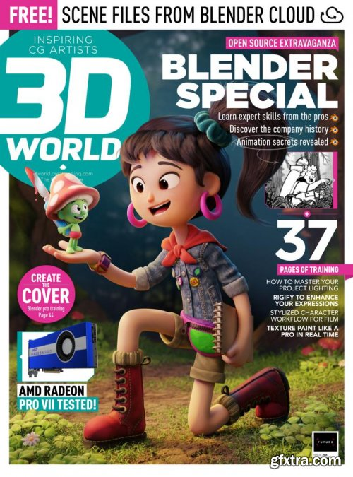 3D World UK - Issue 268, 2020
