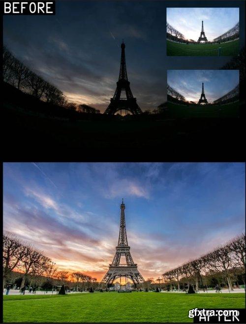 Landscaphoto - Tour Eiffel Edit