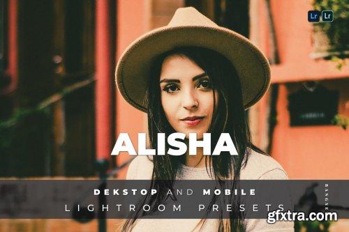 Alisha Desktop and Mobile Lightroom Preset