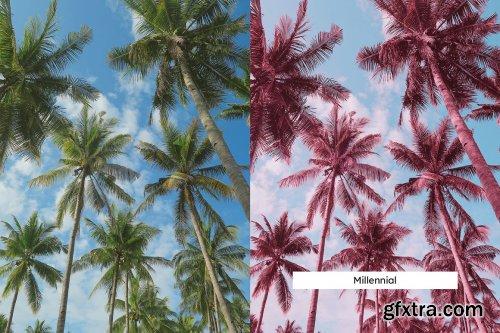 CreativeMarket - 20 Pink Infrared Lightroom Presets & LUTs 6287887