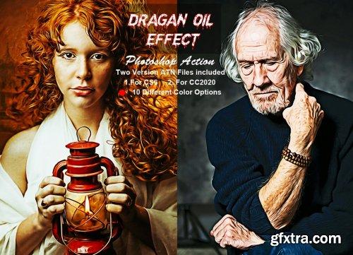 CreativeMarket - Dragan Oil Effect Photoshop Action 6305901