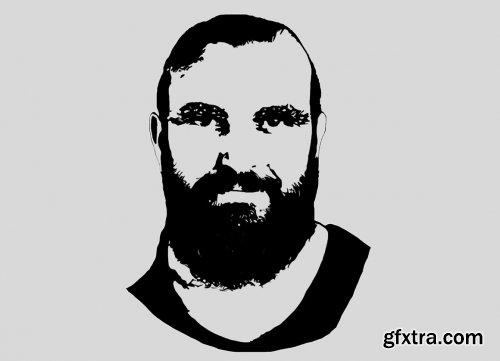 CreativeMarket - Stencil Effect Photoshop Action 6276593