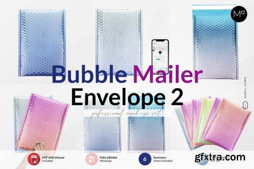CreativeMarket - Bubble Mailer Envelope Mock-ups 6239221