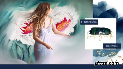 Finding North Photography - Using SallyKate's Hand-Painted