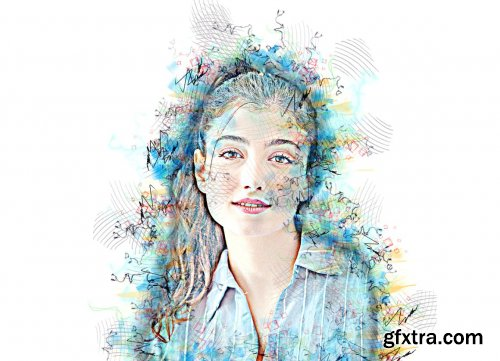 CreativeMarket - Multi Sketch Photoshop Action 6296759