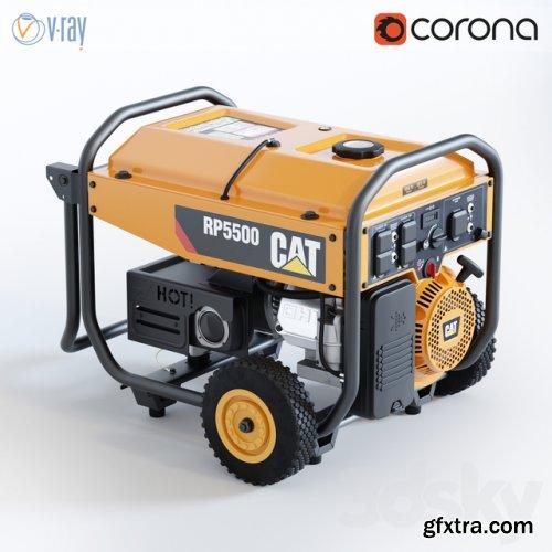Portable generator CAT RP 5500
