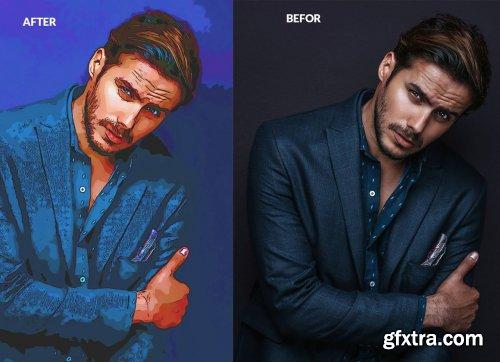 CreativeMarket - Painting Photoshop Action 5851862
