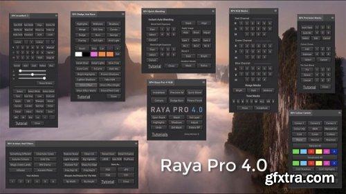 Raya Pro 4.0 Suite - Luminosity Masking Panel for Photoshop