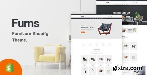 ThemeForest - Furns v1.0.0 - Furniture Shopify Theme - 33283672