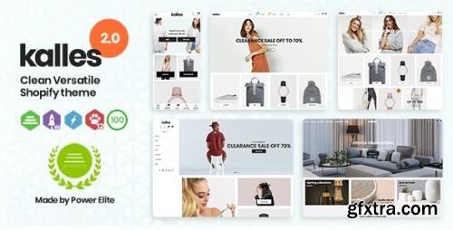 ThemeForest - Kalles v2.5.1 - Clean, Versatile, Responsive Shopify Theme - RTL support - 26320622