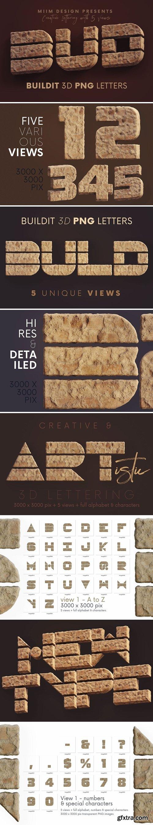 Build It Brick - 3D Lettering