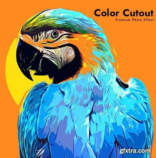 GraphicRiver - Color Cutout Photo Effect 32848683