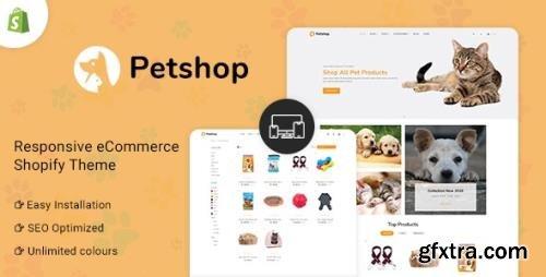 ThemeForest - Petshop v1.0 - Multipurpose E-commerce Shopify Template - 32599962