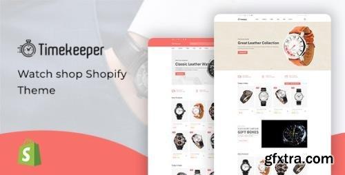 ThemeForest - Timekeeper v1.0.1 - Watch Store Shopify Theme - 33336023