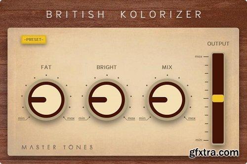 Master Tones British Kolorizer v1.1.0