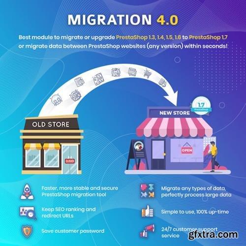 MIGRATION v4.0 - Better Upgrade and Migrate Tool PrestaShop Module