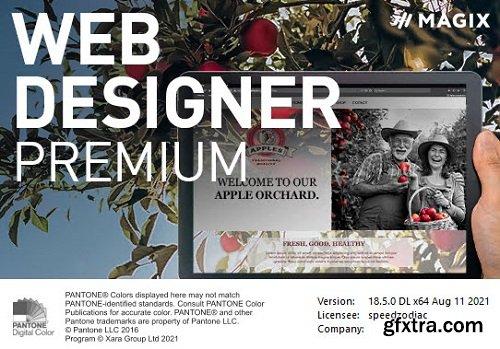 Xara Web Designer Premium 18.5.0.62892 Portable