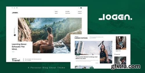 ThemeForest - Logen v1.0 - Blog and Magazine Ghost Theme - 33525461