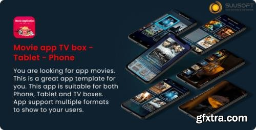 CodeCanyon - Movie Android for Phone, Tablet, TV box v1.2.8 - 24976703