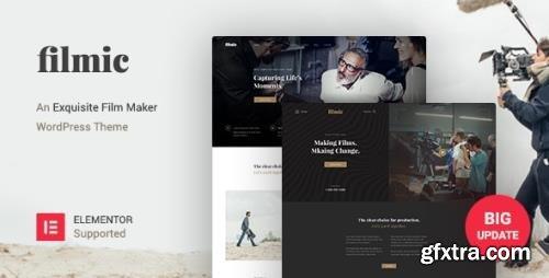 ThemeForest - Filmic v2.4.4 - Movie Studio & Film Maker WordPress Theme - 21184042