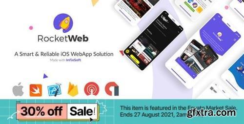CodeCanyon - RocketWeb v1.0.6 - Configurable iOS WebView App Template - 26369602