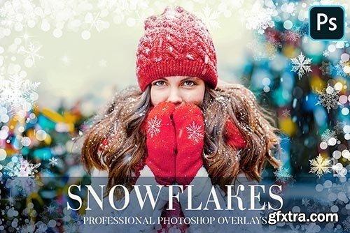 CreativeMarket - Winter Overlays Photoshop 4949169