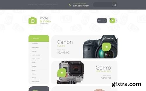 Photo Supplies v1.0 - OpenCart Template - TM 55696