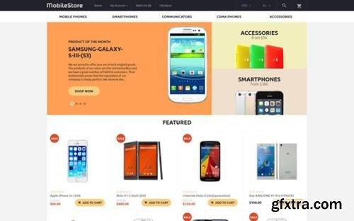 MobileStore v1.0 - OpenCart Template - TM 57577