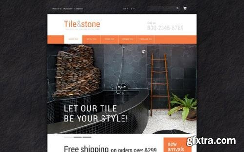 Tile Stone v1.0 - OpenCart Template - TM 55561