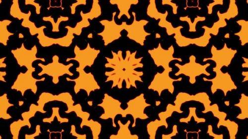 Videohive - Abstract orange geometric seamless pattern background - 33618442 - 33618442