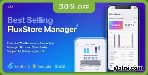 CodeCanyon - FluxStore Manager v2.4.0 - Flutter Vendor App for Woocommerce - 29888574
