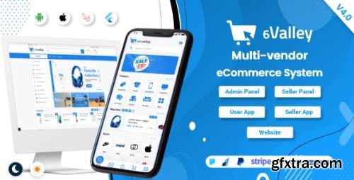 CodeCanyon - 6valley Multi-Vendor E-commerce - Complete eCommerce Mobile App, Web, Seller and Admin Panel v4.0 - 31448597 - NULLED