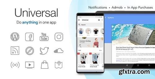 CodeCanyon - Universal v4.5 - Full Multi-Purpose Android App - 6512720