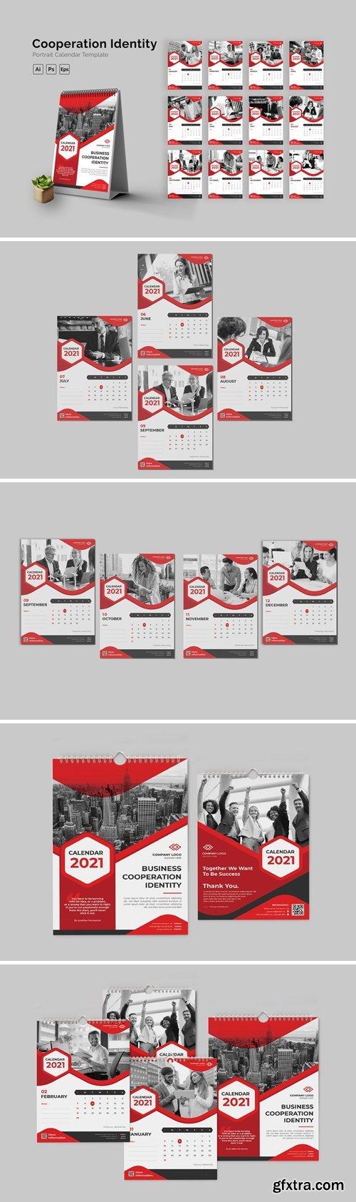 Cooperation Identity Calendar Portrait