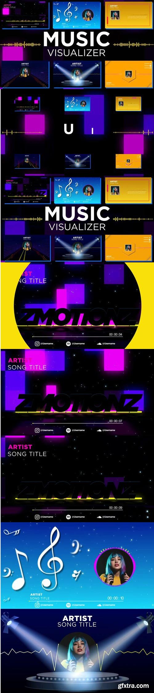 Videohive - Music Visualizer Pack - 33196162