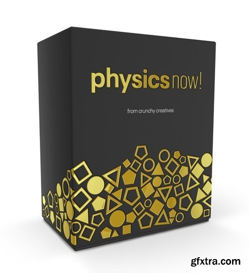 Physics Now! v1.0.2 Integrated Physics Simulation for After Effects (Win/Mac)